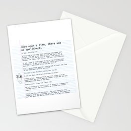 Unique Gifts For Writers: An Homage to Clippy Stationery Cards