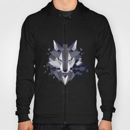 Sif the Great Grey Wolf (without bg) Hoody