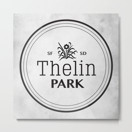 Thelin Park Metal Print