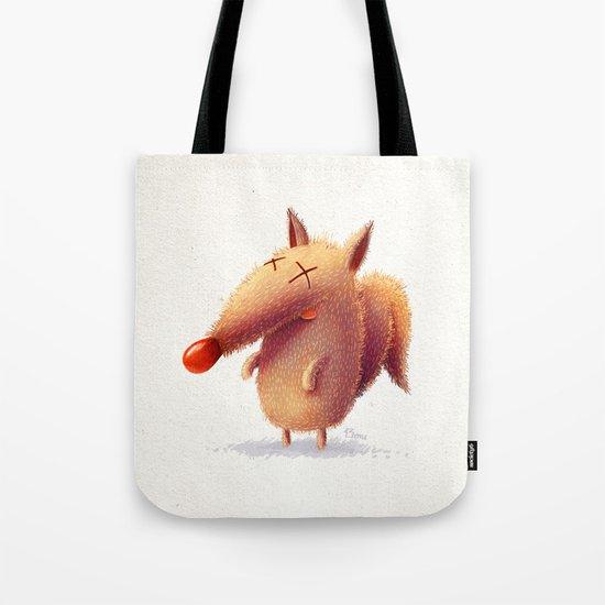 Monday fox Tote Bag