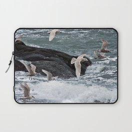 Gulls shop for Dinner Laptop Sleeve