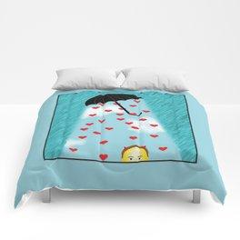 Umbrella Of Love Comforters