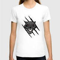 daenerys T-shirts featuring WOLF and ClAW by alexa