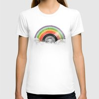 rainbow T-shirts featuring Rainbow Classics by Florent Bodart / Speakerine