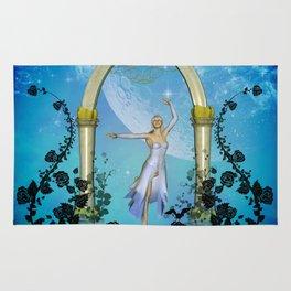 Wonderful dancing fairy Rug