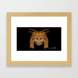 The Mask Within Framed Art Print