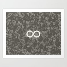 Infinite Monkey Theorem Art Print
