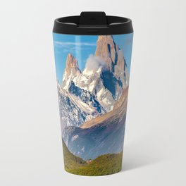 Lake and Andes Mountains, Patagonia - Argentina Travel Mug