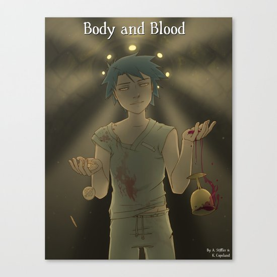 Body & Blood - Chapter Cover Canvas Print