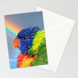 Rainbow Lorikeet Stationery Cards
