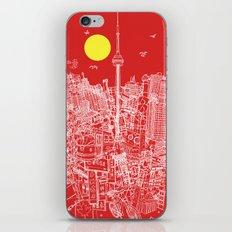 Toronto! Red (Version #2) iPhone & iPod Skin