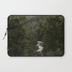 Forest Valley River - Landscape Photography Laptop Sleeve