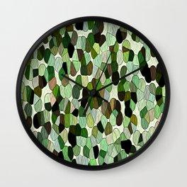 Green Grass Of Summer Wall Clock