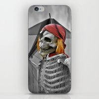 scary iPhone & iPod Skins featuring scary by mayrarosito