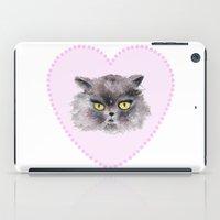 noir iPad Cases featuring Noir by Maria Blanco