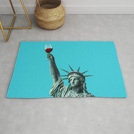 Liberty of drinking Rug