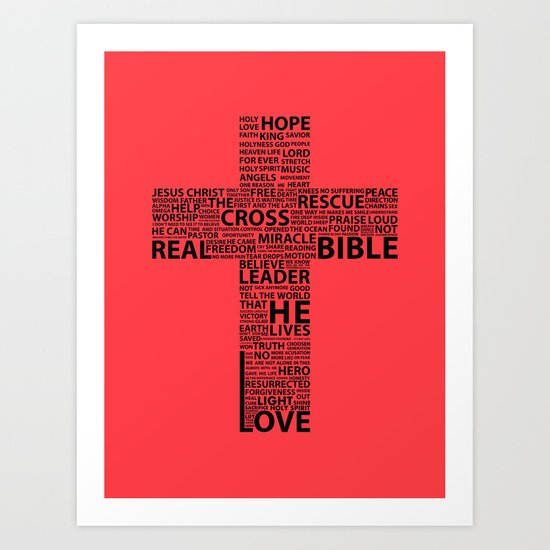 The base of it all it's love Art Print