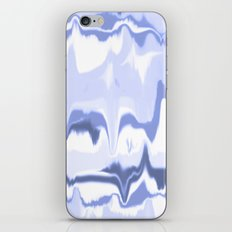 Marbled in ocean iPhone & iPod Skin
