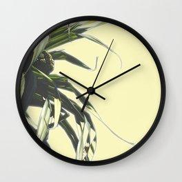 grass illustration Wall Clock