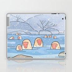 Japanese Snow Monkeys Laptop & iPad Skin