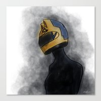 durarara Canvas Prints featuring Celty by notneds
