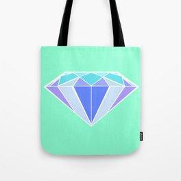 Blue Ice | Diamond Tote Bag