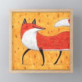 Sassy Little Fox Framed Mini Art Print
