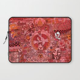 """""""The roots and fruitation of an unjust society"""" Laptop Sleeve"""
