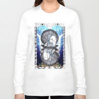 aquarius Long Sleeve T-shirts featuring Aquarius by Caroline Vitelli GOODIES