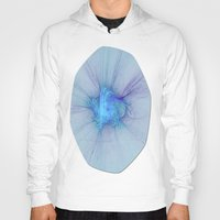 new year Hoodies featuring New Year Burst Fractal by Charma Rose