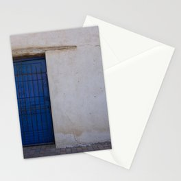 The old blue door Stationery Cards
