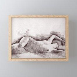 Good Morning My Love Framed Mini Art Print