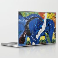 marc Laptop & iPad Skins featuring franz marc tribute by zantelier