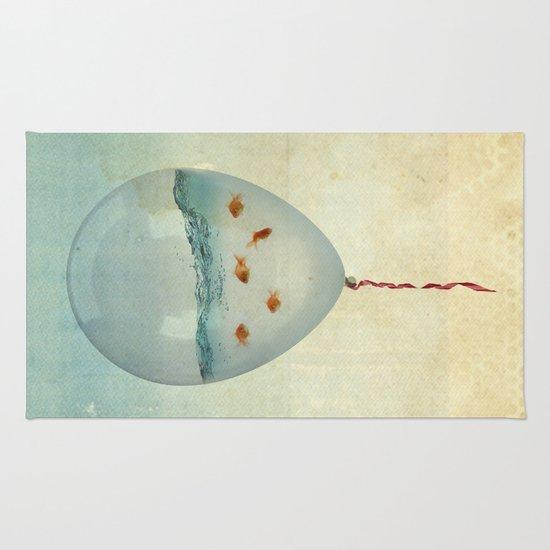 balloon fish Rug
