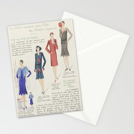Art - Taste - Beauty, notepads of feminine elegance, in June 1929, No. 106, 9th year, p.17, anonymou Stationery Cards