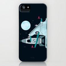 Penguin Space Race Slim Case iPhone (5, 5s)