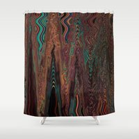 illusion Shower Curtains featuring Illusion by Marianna Shomero