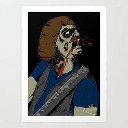 William Murderface Art Print