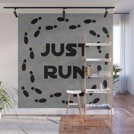 Just Run! Wall Mural