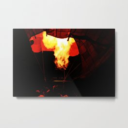 A baloon of fire Metal Print