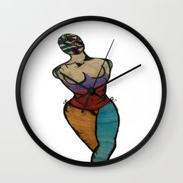 Twisted  Wall Clock