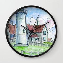 Nobska Lighthouse Wall Clock