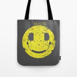 Music Smile V2 Tote Bag