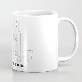 Negroni - Archaeological Drawing Coffee Mug