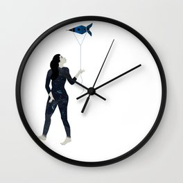 IN THE SPACE Wall Clock