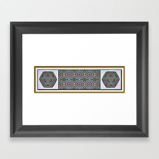 Weedy widgets Framed Art Print