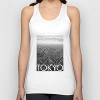 tokyo Tank Tops featuring TOKYO by Rothko