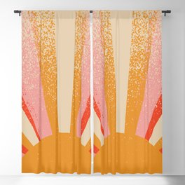 ORIGINAL DRAWING - Art, interior, drawing, decor, design, bauhaus, abstract, decoration, mid century Blackout Curtain