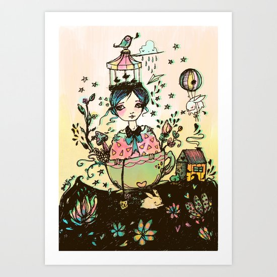 Carrucielo Art Print