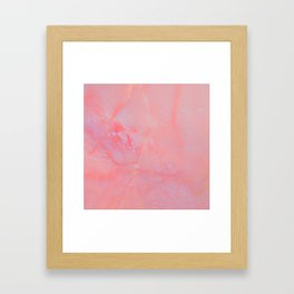 Summer Marble Framed Art Print